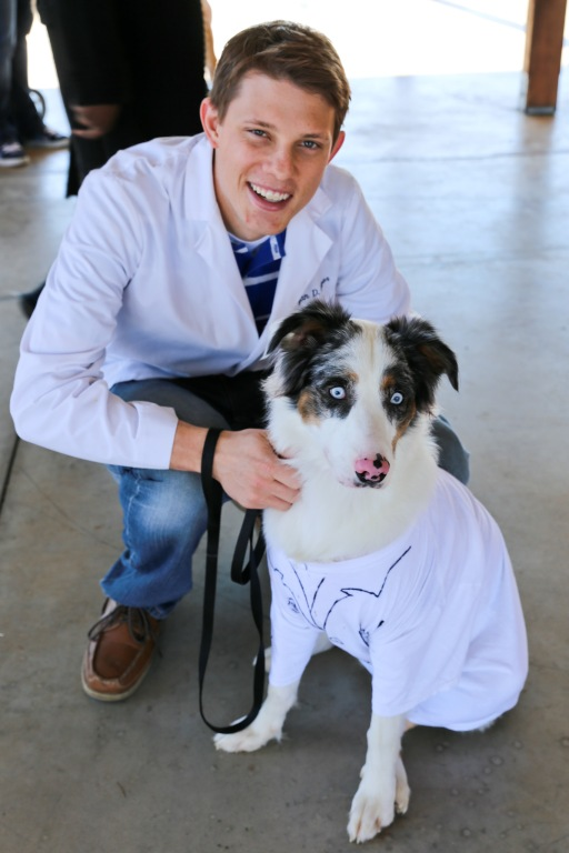 Ryan and Buckley at the 2013 Howl-O-Ween Dog Walk